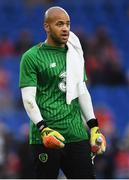 6 September 2018; Darren Randolph of Republic of Ireland prior to the UEFA Nations League match between Wales and Republic of Ireland at the Cardiff City Stadium in Cardiff, Wales. Photo by Stephen McCarthy/Sportsfile