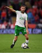 6 September 2018; Conor Hourihane of Republic of Ireland during the UEFA Nations League match between Wales and Republic of Ireland at the Cardiff City Stadium in Cardiff, Wales. Photo by Stephen McCarthy/Sportsfile