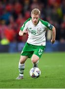 6 September 2018; Daryl Horgan of Republic of Ireland during the UEFA Nations League match between Wales and Republic of Ireland at the Cardiff City Stadium in Cardiff, Wales. Photo by Stephen McCarthy/Sportsfile