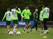 8 September 2018; John Egan during a Republic of Ireland training session at Dragon Park in Newport, Wales. Photo by Stephen McCarthy/Sportsfile