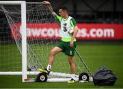 8 September 2018; Shaun Williams during a Republic of Ireland training session at Dragon Park in Newport, Wales. Photo by Stephen McCarthy/Sportsfile