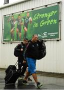 8 September 2018; Zebre head coach Michael Bradley arrives at the stadium prior to the Guinness PRO14 Round 2 match between Connacht and Zebre at The Sportsground in Galway.  Photo by Harry Murphy/Sportsfile