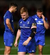8 September 2018; James Tracy of Leinster following the Guinness PRO14 Round 2 match between Scarlets and Leinster at Parc y Scarlets in Llanelli, Wales. Photo by Stephen McCarthy/Sportsfile