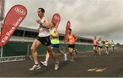 9 September 2018; Barry Murphy of Celbridge AC, Co. Kildare, competing in the Kia Race Series Finale – Mondello International 10K at Mondello Park in Naas, Co. Kildare. Photo by Sam Barnes/Sportsfile