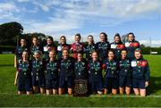 9 September 2018; Lakewood Athletic players with the Shield after the FAI Women's Intermediate Shield Final match between TEK United and Lakewood Athletic at Newhill Park in Two Mile Borris, Tipperary.  Photo by Harry Murphy/Sportsfile