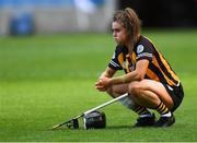 9 September 2018; Katie Power of Kilkenny dejected after the Liberty Insurance All-Ireland Senior Camogie Championship Final match between Cork and Kilkenny at Croke Park in Dublin. Photo by Piaras Ó Mídheach/Sportsfile