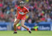 9 September 2018; Amy O'Connor of Cork during the Liberty Insurance All-Ireland Senior Camogie Championship Final match between Cork and Kilkenny at Croke Park in Dublin. Photo by Piaras Ó Mídheach/Sportsfile
