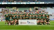 9 September 2018; The Kerry squad before the Liberty Insurance All-Ireland Premier Junior Camogie Championship Final match between Dublin and Kerry at Croke Park in Dublin. Photo by Piaras Ó Mídheach/Sportsfile
