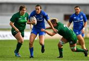 9 September 2018; Hannah Tyrrell of Leinster is tackled by Edel McMahon of Connacht during the 2018 Women's Interprovincial Rugby Championship match between Connacht and Leinster at the Sportgrounds in Galway. Photo by Brendan Moran/Sportsfile