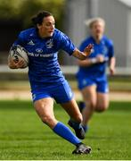 9 September 2018; Hannah Tyrrell of Leinster during the 2018 Women's Interprovincial Rugby Championship match between Connacht and Leinster at the Sportgrounds in Galway. Photo by Brendan Moran/Sportsfile