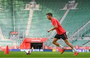10 September 2018; Robert Lewandowski during a Poland training session at Municipal Stadium in Wroclaw, Poland. Photo by Stephen McCarthy/Sportsfile