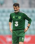 10 September 2018; Republic of Ireland assistant manager Roy Keane during a Republic of Ireland training session at Municipal Stadium in Wroclaw, Poland. Photo by Stephen McCarthy/Sportsfile