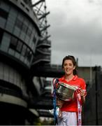 11 September 2018; In attendance at a photocall ahead of the TG4 All-Ireland Junior, Intermediate and Senior Ladies Football Championship Finals on Sunday next, is Senior finalist, Ciara O'Sullivan of Cork. TG4 All-Ireland Ladies Football Championship Finals Captains Day at Croke Park, in Dublin. Photo by Eóin Noonan/Sportsfile
