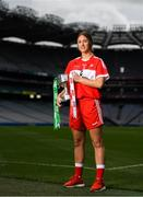 11 September 2018; In attendance at a photocall ahead of the TG4 All-Ireland Junior, Intermediate and Senior Ladies Football Championship Finals on Sunday next, is Junior finalist, Kate Flood of Louth. TG4 All-Ireland Ladies Football Championship Finals Captains Day at Croke Park, in Dublin. Photo by Eóin Noonan/Sportsfile