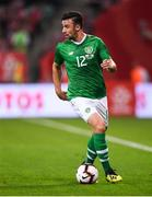 11 September 2018; Enda Stevens of Republic of Ireland during the International Friendly match between Poland and Republic of Ireland at the Municipal Stadium in Wroclaw, Poland. Photo by Stephen McCarthy/Sportsfile