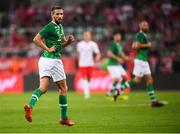 11 September 2018; Conor Hourihane of Republic of Ireland during the International Friendly match between Poland and Republic of Ireland at the Municipal Stadium in Wroclaw, Poland. Photo by Stephen McCarthy/Sportsfile