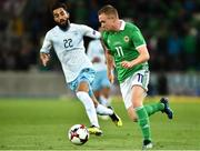 11 September 2018; Shane Ferguson of Northern Ireland during the International Friendly match between Northern Ireland and Israel at the National Football Stadium at Windsor Park in Belfast. Photo by Oliver McVeigh/Sportsfile