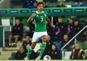 11 September 2018; Jamal Lewis of Northern Ireland  during the International Friendly match between Northern Ireland and Israel at the National Football Stadium at Windsor Park in Belfast. Photo by Oliver McVeigh/Sportsfile