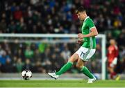 11 September 2018; Paddy McNair of Northern Ireland during the International Friendly match between Northern Ireland and Israel at the National Football Stadium at Windsor Park in Belfast. Photo by Oliver McVeigh/Sportsfile
