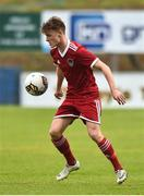 8 September 2018; Alex Minihane of Cork City during the SSE Airtricity League U17 Mark Farren Memorial Cup Final match between Finn Harps and Cork City at Finn Park in Ballybofey, Co Donegal. Photo by Oliver McVeigh/Sportsfile