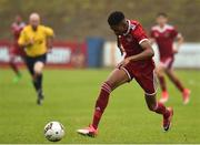 8 September 2018; Richardo Dinanga of Cork City during the SSE Airtricity League U17 Mark Farren Memorial Cup Final match between Finn Harps and Cork City at Finn Park in Ballybofey, Co Donegal. Photo by Oliver McVeigh/Sportsfile