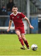 8 September 2018; Josh Lombardi of Cork City during the SSE Airtricity League U17 Mark Farren Memorial Cup Final match between Finn Harps and Cork City at Finn Park in Ballybofey, Co Donegal. Photo by Oliver McVeigh/Sportsfile
