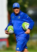 7 September 2018; Leinster Elite Player Development Officer Simon Broughton during the Celtic Cup Round 1 match between Ulster A and Leinster A at Malone RFC in Belfast. Photo by Ramsey Cardy/Sportsfile