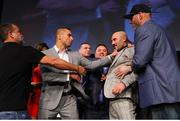 13 September 2018; Gary 'Spike' O'Sullivan, right, and David Lemieux square off during a press conference ahead of their middlewieght bout on the Gennady Golovkin and Canelo Álvarez undercard in Las Vegas, Nevada, USA. Photo by Tom Hogan/Golden Boy Promotions via Sportsfile