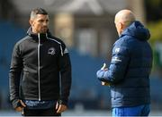14 September 2018; Rob Kearney with backs coach Felipe Contepomi during the Leinster captains run at the RDS Arena in Dublin. Photo by Eóin Noonan/Sportsfile