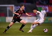 14 September 2018; Ian Morris of Bohemians in action against Graham Cummins of Cork City during the SSE Airtricity League Premier Division match between Bohemians and Cork City at Dalymount Park in Dublin. Photo by Stephen McCarthy/Sportsfile