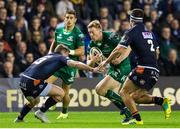 14 September 2018; Kyle Godwin of Connacht is tackled by James Johnstone of Edinburgh during the Guinness PRO14 Round 3 match between Edinburgh Rugby and Connacht at BT Murrayfield Stadium, in Edinburgh, Scotland. Photo by Kenny Smith/Sportsfile