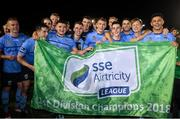 14 September 2018; UCD players celebrate following the SSE Airtricity League First Division match between UCD and Finn Harps at the UCD Bowl in Dublin. Photo by Harry Murphy/Sportsfile