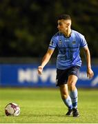14 September 2018; Evan Osam of UCD during the SSE Airtricity League First Division match between UCD and Finn Harps at the UCD Bowl in Dublin. Photo by Harry Murphy/Sportsfile