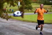 15 September 2018; parkrun Ireland in partnership with Vhi, added their 99th event on Saturday, 15th September, with the introduction of the Strokestown parkrun in Co. Roscommon. Pictured Michael Pierce from Cabinteely, Co. Dublin. parkruns take place over a 5km course weekly, are free to enter and are open to all ages and abilities, providing a fun and safe environment to enjoy exercise. To register for a parkrun near you visit www.parkrun.ie.  Photo by Harry Murphy/Sportsfile