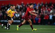 14 September 2018; Joey Carbery of Munster during the Guinness PRO14 Round 3 match between Munster and Ospreys at Irish Independent Park, in Cork. Photo by David Fitzgerald/Sportsfile