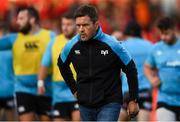 14 September 2018; Ospreys head coach Allen Clarke prior to the Guinness PRO14 Round 3 match between Munster and Ospreys at Irish Independent Park, in Cork. Photo by David Fitzgerald/Sportsfile