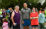 parkrun Ireland in partnership with Vhi, added their 100th event on Saturday, 15th September, with the introduction of the Tyrrelstown parkrun in Co. Dublin. Pictured is Taoiseach Leo Varadkar, T.D. with Michael Cleary, from Raheny, and Laura Murrau, from Tolka Valley parkrun Core Team member. parkruns take place over a 5km course weekly, are free to enter and are open to all ages and abilities, providing a fun and safe environment to enjoy exercise. To register for a parkrun near you visit www.parkrun.ie. Photo by Piaras Ó Mídheach/Sportsfile