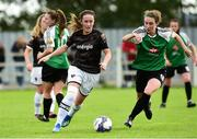 15 September 2018; Kylie Murphy of Wexford Youths in action against Karen Duggan of Peamount United during the Continental Tyres Women's National League Cup Final between Wexford Youths at Peamount United at Ferrcarrig Park in Wexford. Photo by Matt Browne/Sportsfile