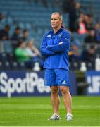 15 September 2018; Leinster senior coach Stuart Lancaster prior to the Guinness PRO14 Round 3 match between Leinster and Dragons at the RDS Arena in Dublin. Photo by David Fitzgerald/Sportsfile