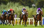 15 September 2018; Rostropovich, with Donnacha O'Brien up, centre on their way to winning the Paddy's Rewards Club Stakes during Irish Champions Stakes Day during the Leopardstown Races at Leopardstown in Dublin. Photo by Sam Barnes/Sportsfile