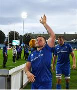 15 September 2018; Andrew Porter of Leinster following the Guinness PRO14 Round 3 match between Leinster and Dragons at the RDS Arena in Dublin. Photo by David Fitzgerald/Sportsfile