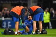 15 September 2018; Robbie Henshaw of Leinster recieves treatment during the Guinness PRO14 Round 3 match between Leinster and Dragons at the RDS Arena in Dublin. Photo by Harry Murphy/Sportsfile
