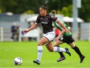 15 September 2018; Rianna Jarrett of Wexford Youths in action against Karen Duggan of Peamount United during the Continental Tyres Women's National League Cup Final between Wexford Youths at Peamount United at Ferrcarrig Park in Wexford. Photo by Matt Browne/Sportsfile