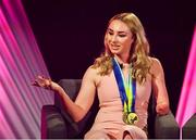 15 September 2018; Irish Paralympic Swimmer Ellen Keane during the LIVE from The Mansion House: 'Seó Beo Pheil na mBan le Lidl' event at the Mansion House in Dublin. Photo by Sam Barnes/Sportsfile