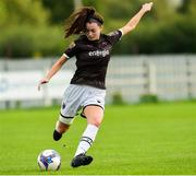 15 September 2018; Lauren Dwyer of Wexford Youths during the Continental Tyres Women's National League Cup Final between Wexford Youths at Peamount United at Ferrcarrig Park in Wexford. Photo by Matt Browne/Sportsfile