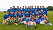 15 September 2018; The Leinster players celebrate after the U19 Interprovincial Championship match between Ulster and Leinster at Newforge Country Club in Belfast. Photo by Oliver McVeigh/Sportsfile