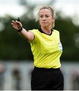 15 September 2018; Referee Paula Brady during the Continental Tyres Women's National League Cup Final between Wexford Youths at Peamount United at Ferrcarrig Park in Wexford. Photo by Matt Browne/Sportsfile