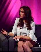15 September 2018; Máire Treasa Ní Cheallaigh during the LIVE from The Mansion House: 'Seó Beo Pheil na mBan le Lidl' event at the Mansion House in Dublin. Photo by Sam Barnes/Sportsfile
