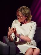 15 September 2018; Mairead McGuinness during the LIVE from The Mansion House: 'Seó Beo Pheil na mBan le Lidl' event at the Mansion House in Dublin. Photo by Sam Barnes/Sportsfile