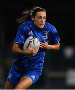 15 September 2018; Hannah Tyrrell of Leinster during the Women's Interprovincial Championship match between Leinster and Munster at Energia Park in Donnybrook, Dublin. Photo by Brendan Moran/Sportsfile